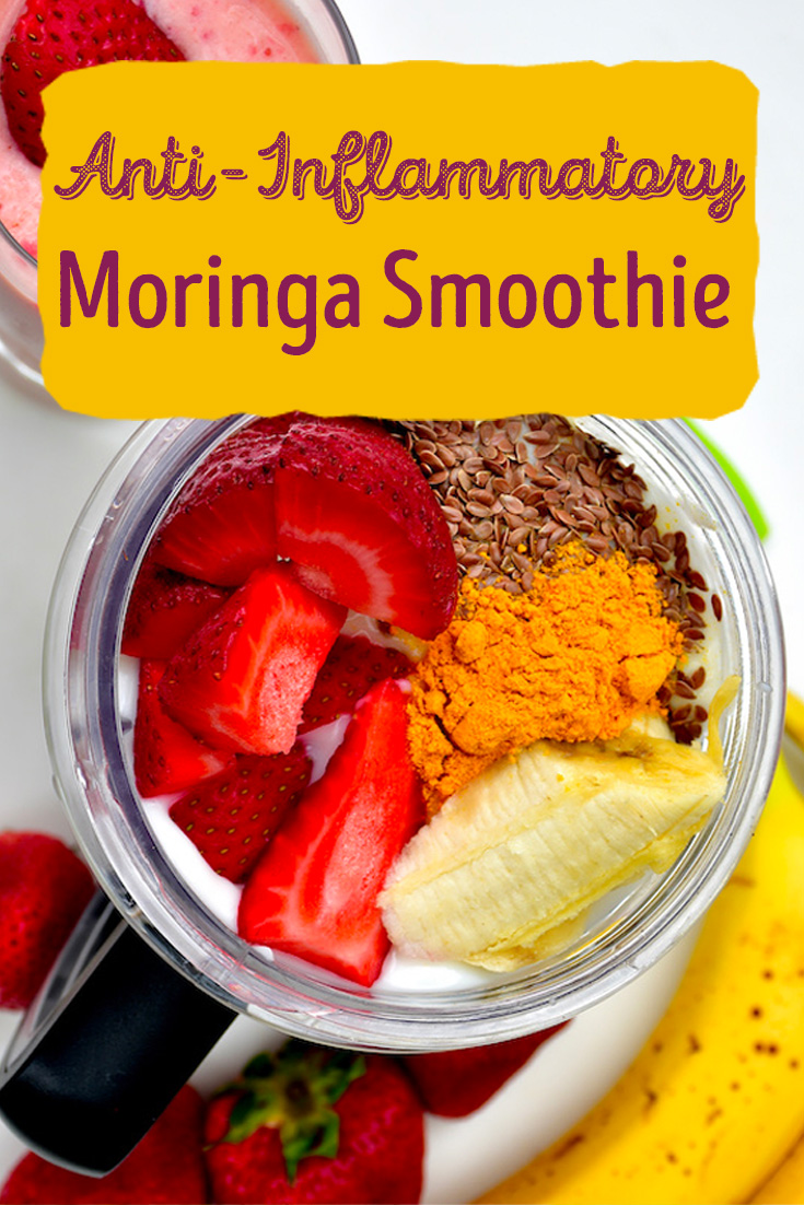 Anti-Inflammatory Moringa Smoothie