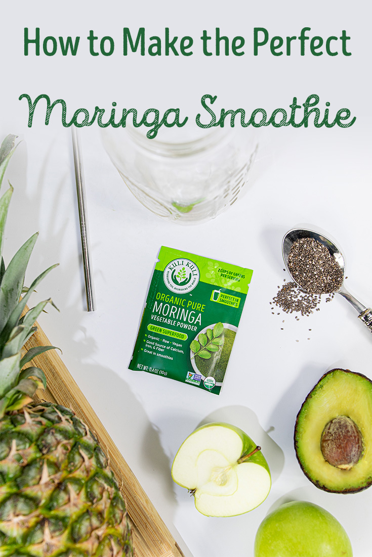 How to Make the Perfect Moringa Smoothie