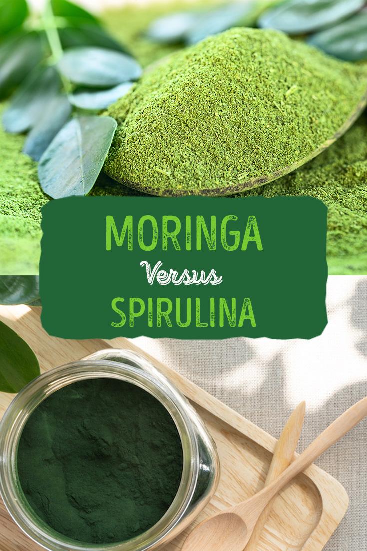 Moringa Versus Spirulina