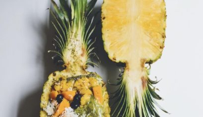 pineapple moringa smoothie