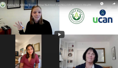 UCAN Women's Health Webinar available on youtube